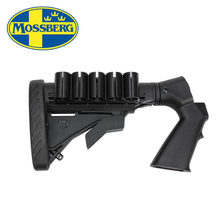 Mossberg 500 835 6 Position Adjustable Stock 12ga Black Mgw