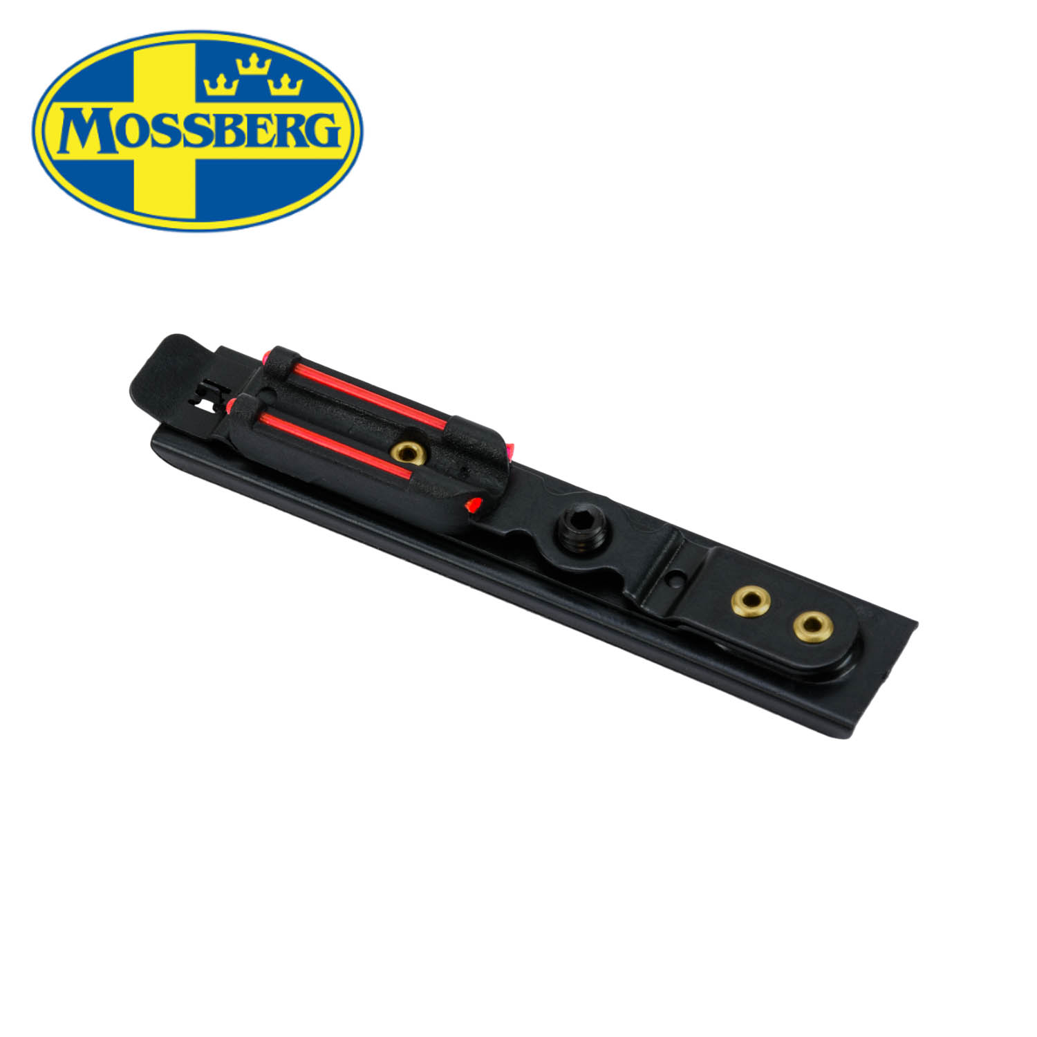 Mossberg 500 / 535 / 835 / 930 / 935 Turkey Fiber Optic Snap-On Rear Sight,  Red: Midwest Gun Works