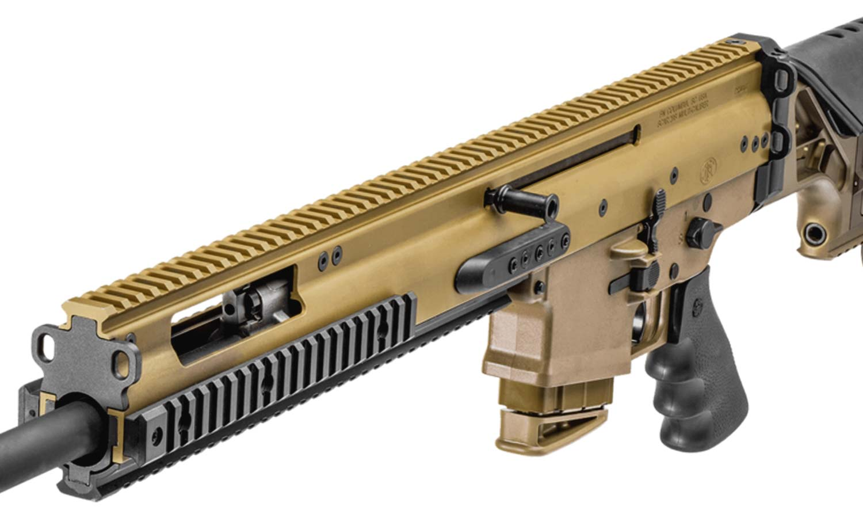 FN SCAR 20S Standard S/A FDE 20-in 10-Rnd Magazine: Midwest Gun Works