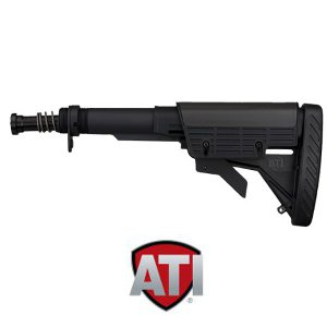 ATI AR-15 Strikeforce Stock with Commercial Buffer Tube Assembly: Midwest  Gun Works