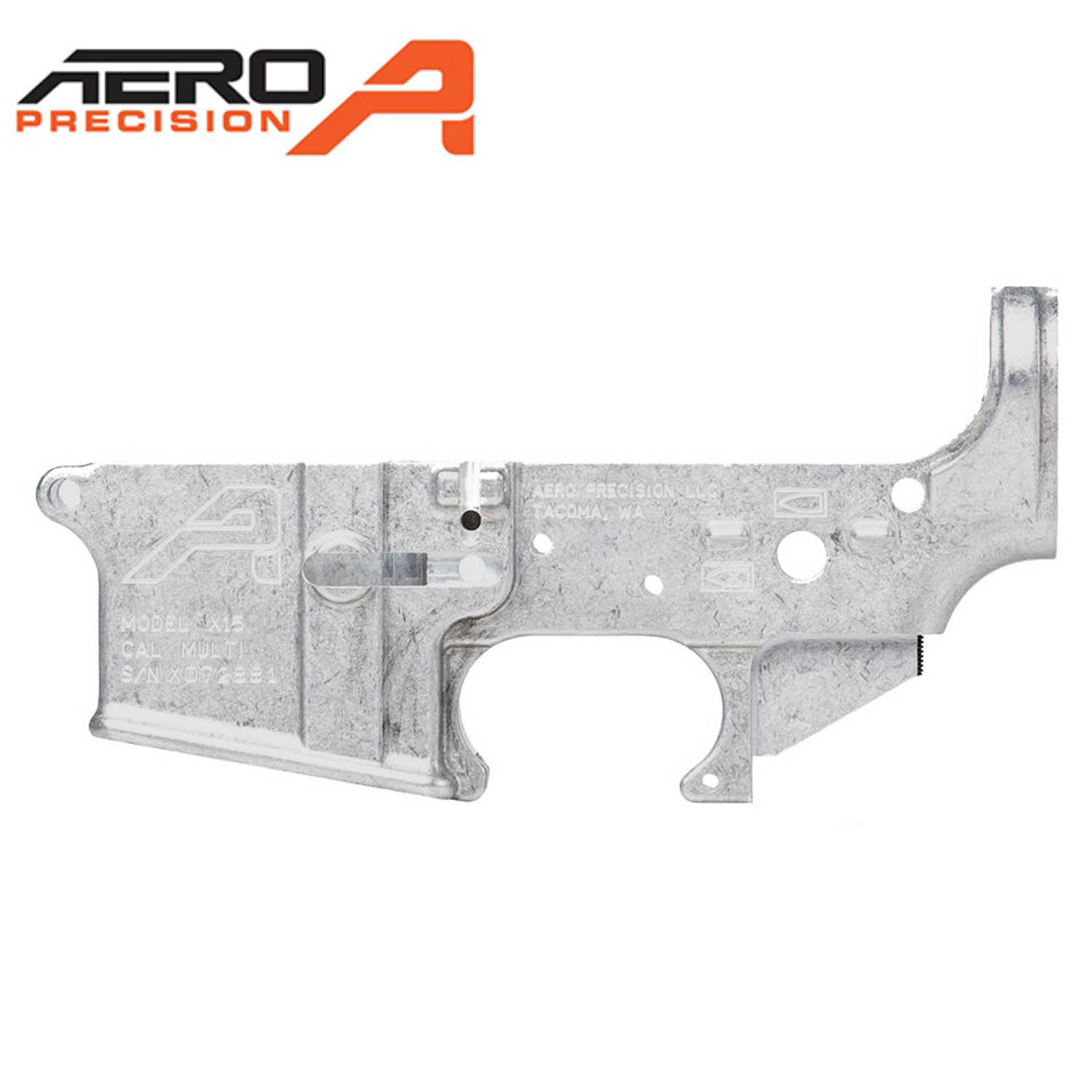 Aero Precision Stripped AR-15 Lower Receiver, Gen 2, Uncoated: Midwest Gun  Works