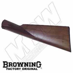 BPS Butt Stock Straight Grip-Upland 16/20/28 Ga, Satin Finish: Midwest Gun  Works