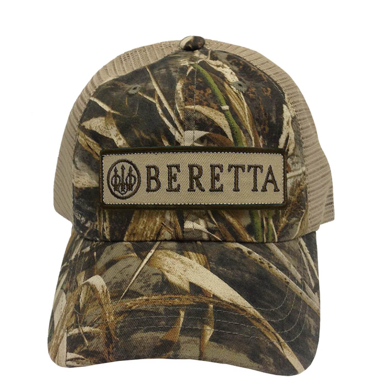 Beretta Men/'s Patch Trucker Hat NEW Navy One Size BC062016600523