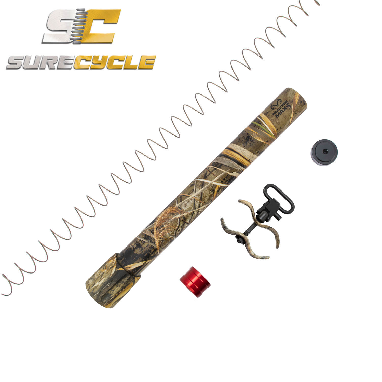 BRILEY SPORTING BOLT HANDLE BROWNING WINCHESTER SX2 SILVER COLORS RED BLACK BLUE