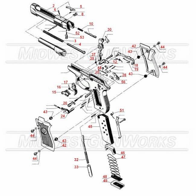 Beretta 84, 85, 86 Schematic