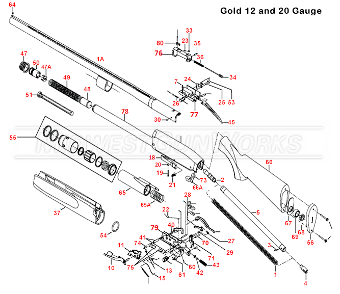Brown Part Browning Gold Parts Diagram
