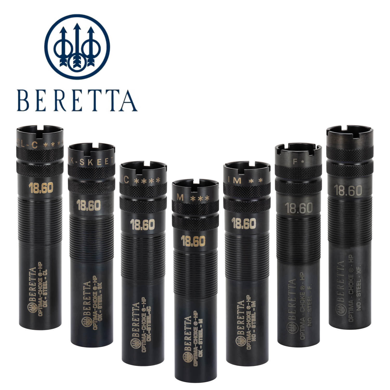 Beretta 12ga  Optima-Choke HP Black Extended Choke Tubes: Midwest Gun Works