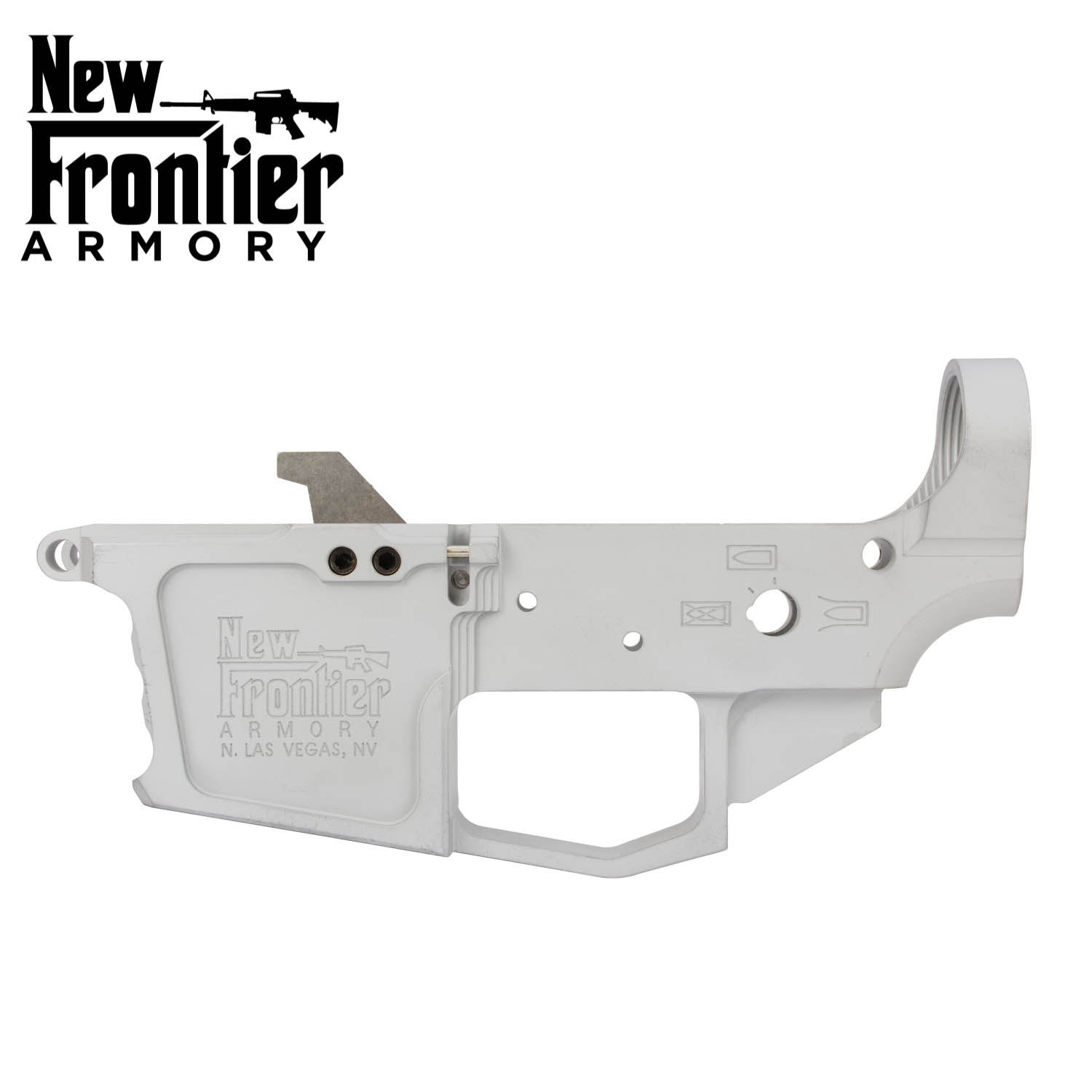 New Frontier Armory AR-9 / 40 Stripped Billet Lower, Glock Style Magazines,  Raw: Midwest Gun Works