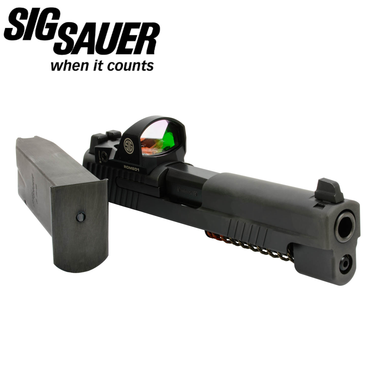 Sig Sauer P226 9mm Caliber X-Change Kit with Romeo1 Red Dot Sight: Midwest  Gun Works