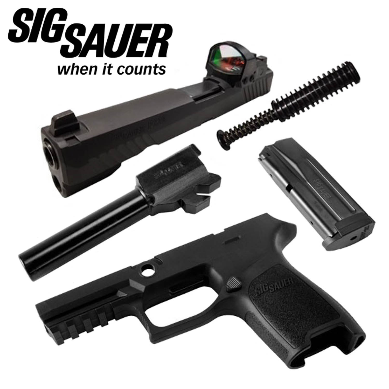 Sig Sauer P320 Compact 9mm Caliber X-Change Kit, RX, Black: Midwest Gun  Works