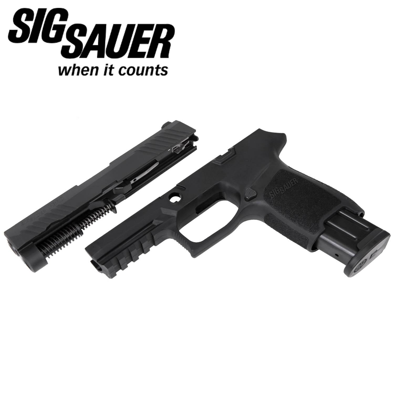 Sig Sauer P320 Compact 9mm Caliber X-Change Kit, Black, 10 Round Mag:  Midwest Gun Works
