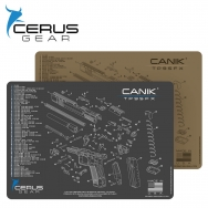 Canik TP9 3 Round Magazine Extension, 15 Round Mag: MGW