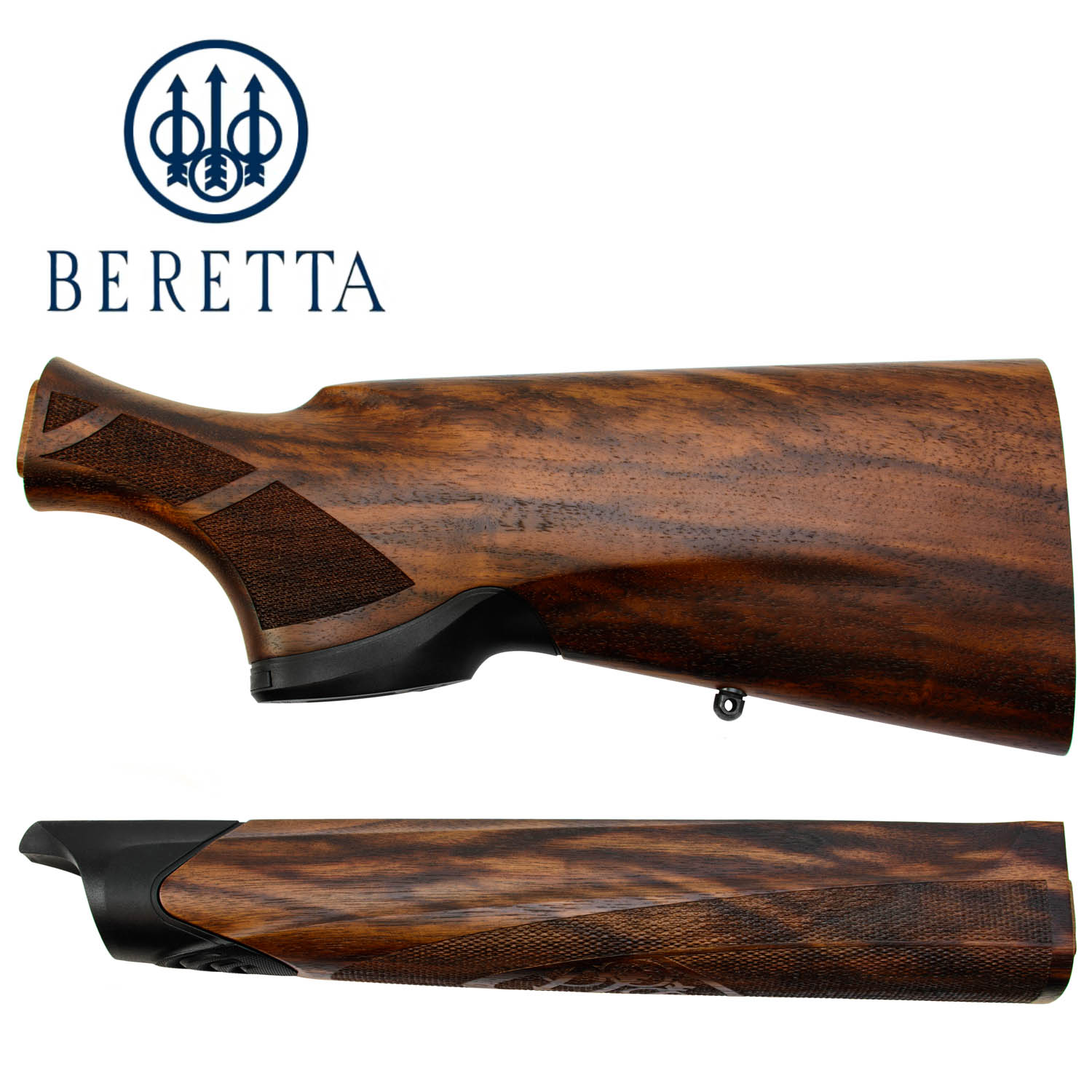 Beretta A400 Xplor Action 12ga  Stock and Forearm Set, without Kickoff:  Midwest Gun Works