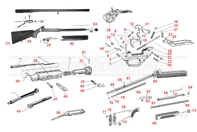 Beretta ES 100 Pintail Schematic