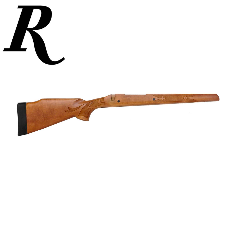 Remington 700 ADL Long Action Magnum Walnut Stock with Fleur-De-Lis, Satin:  Midwest Gun Works