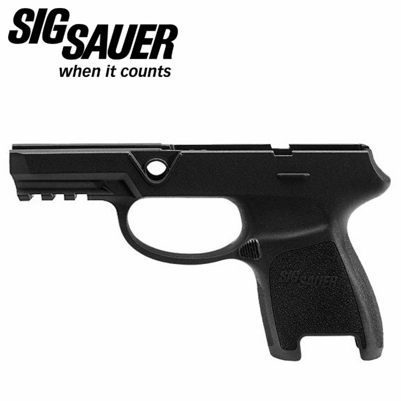 Sig Sauer P250 / P320 Subcompact Grip Module, 9mm / 40S&W / 357 Sig,  Medium, Railed, Black: Midwest Gun Works