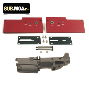 SUB MOA Jig And Anodized 80% Lower Kit: Midwest Gun Works