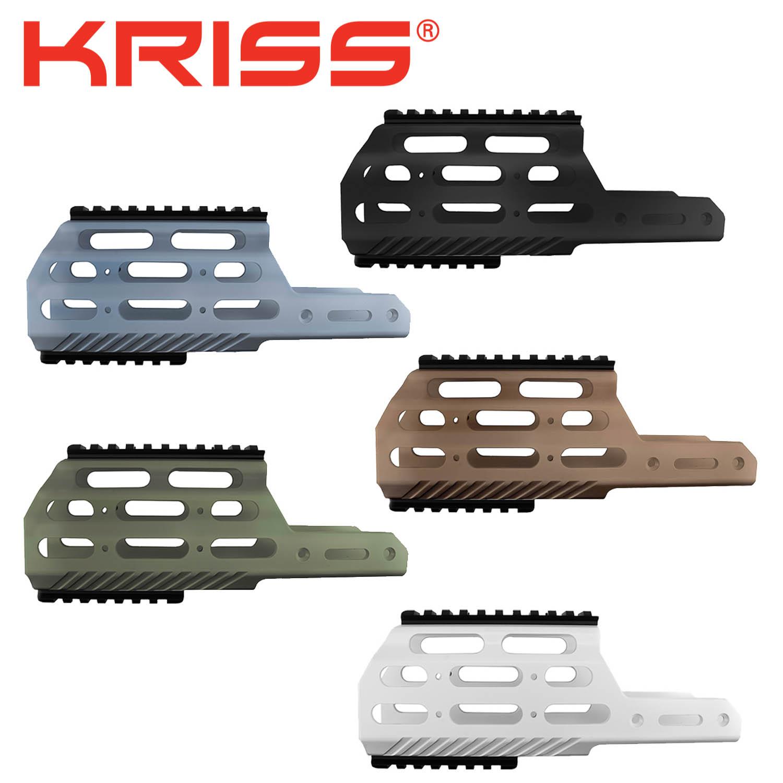 Kriss Vector Gen 2 Modular Rail, MK1, for Enhanced Shroud: Midwest Gun Works