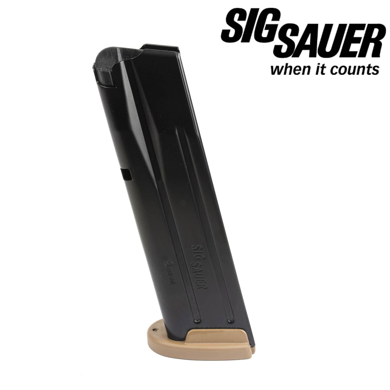 Sig Sauer P320 M17, 9mm 17 Round Magazine, Coyote Tan: Midwest Gun Works