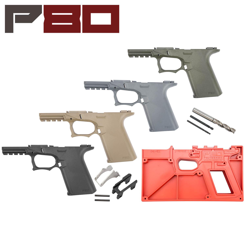 Polymer80 Glock 19/23 80% Pistol Frame Kit, ReadyMod: Midwest Gun Works