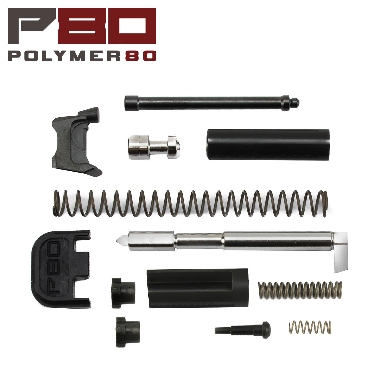 Polymer80 Glock Gen1-4 9mm Slide Parts Kit, Black/Gray: Midwest Gun Works