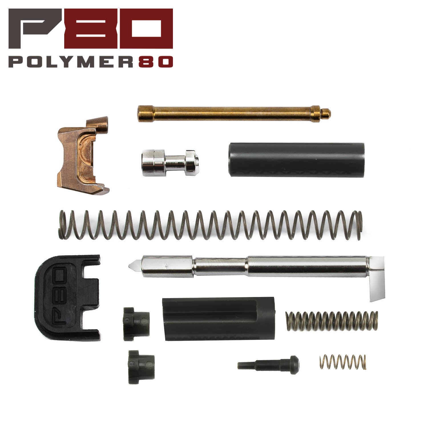 Polymer80 Glock Gen1-4 9mm Slide Parts Kit, Bronze/Gray: Midwest Gun Works