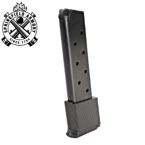 Springfield 1911-A1  45 ACP 10 Rd  Extended Magazine, Blue: Midwest Gun  Works