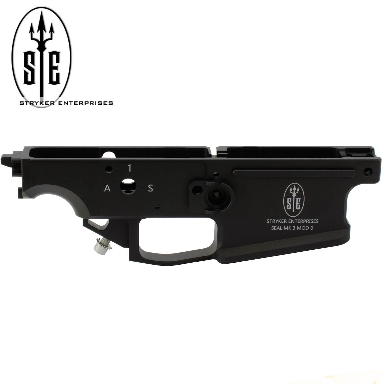 Stryker Enterprises FN SCAR 17S Enhanced Alloy Lower, Mk3 Mod 0, OEM  Magazine, Black: Midwest Gun Works