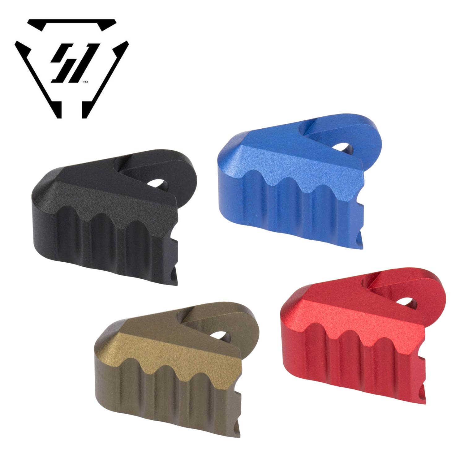 Tactical Ring Latch Handle for Glock Anodized Surface Aluminum 6061 T6