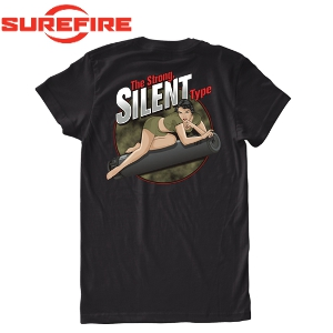 Surefire ShirtMgw Silent Strong T Type Pin Girl Black Up yNv8wnOm0