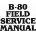 Browning B-80 Shotgun Field Manual