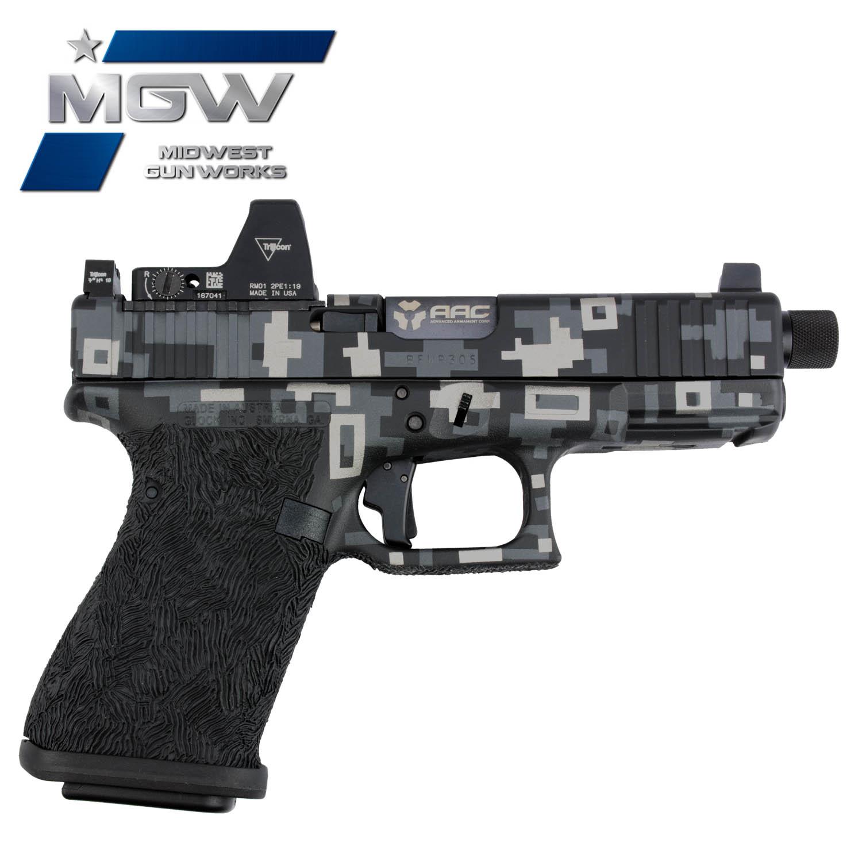 MGW Custom Glock 19, M5: Midwest Gun Works
