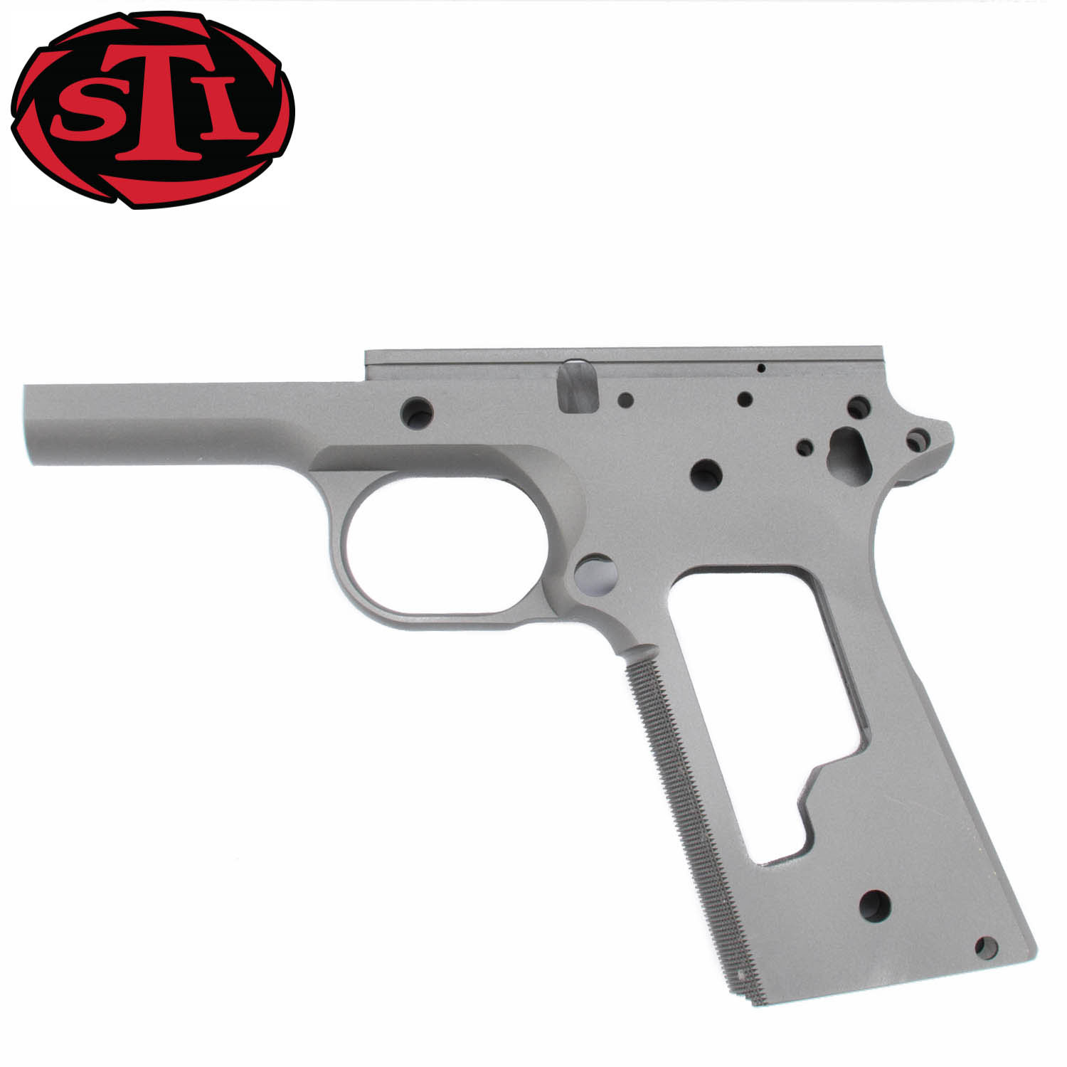 STI 1911 Frame, Forged Steel Standard Ramped, Checkered: MGW