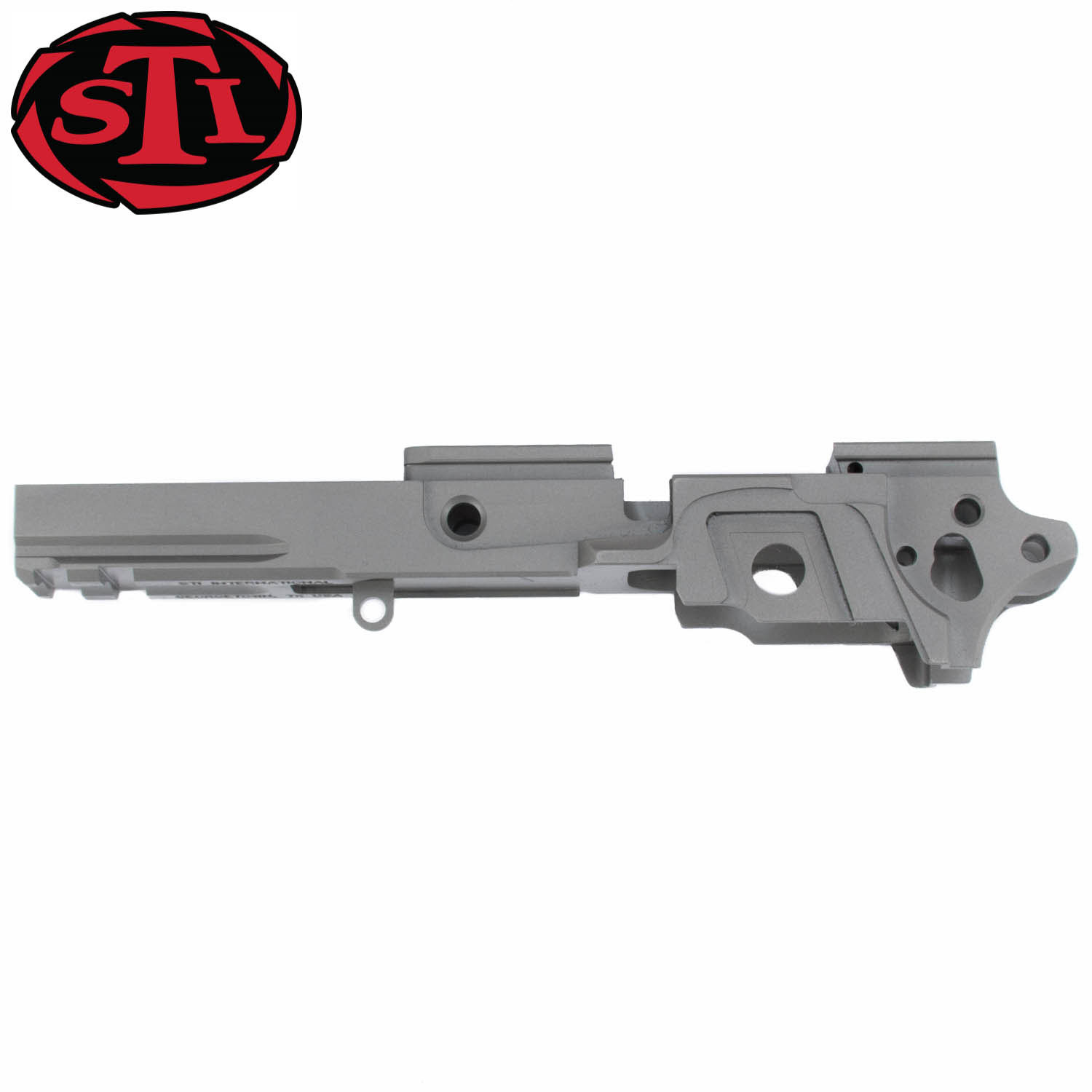 STI 2011 Frame, Carbon Steel Standard Ramped, Tactical Dust Cover ...