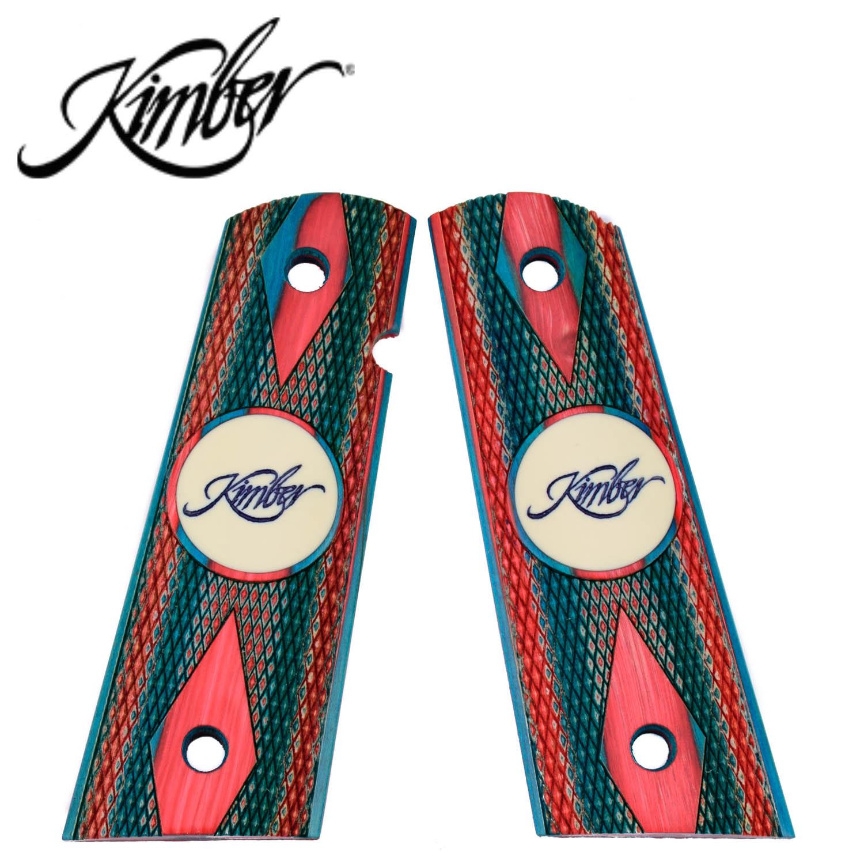 Kimber 1911 Full Size Ambi Grips Kimber Usa Red White Blue Laminate Mgw