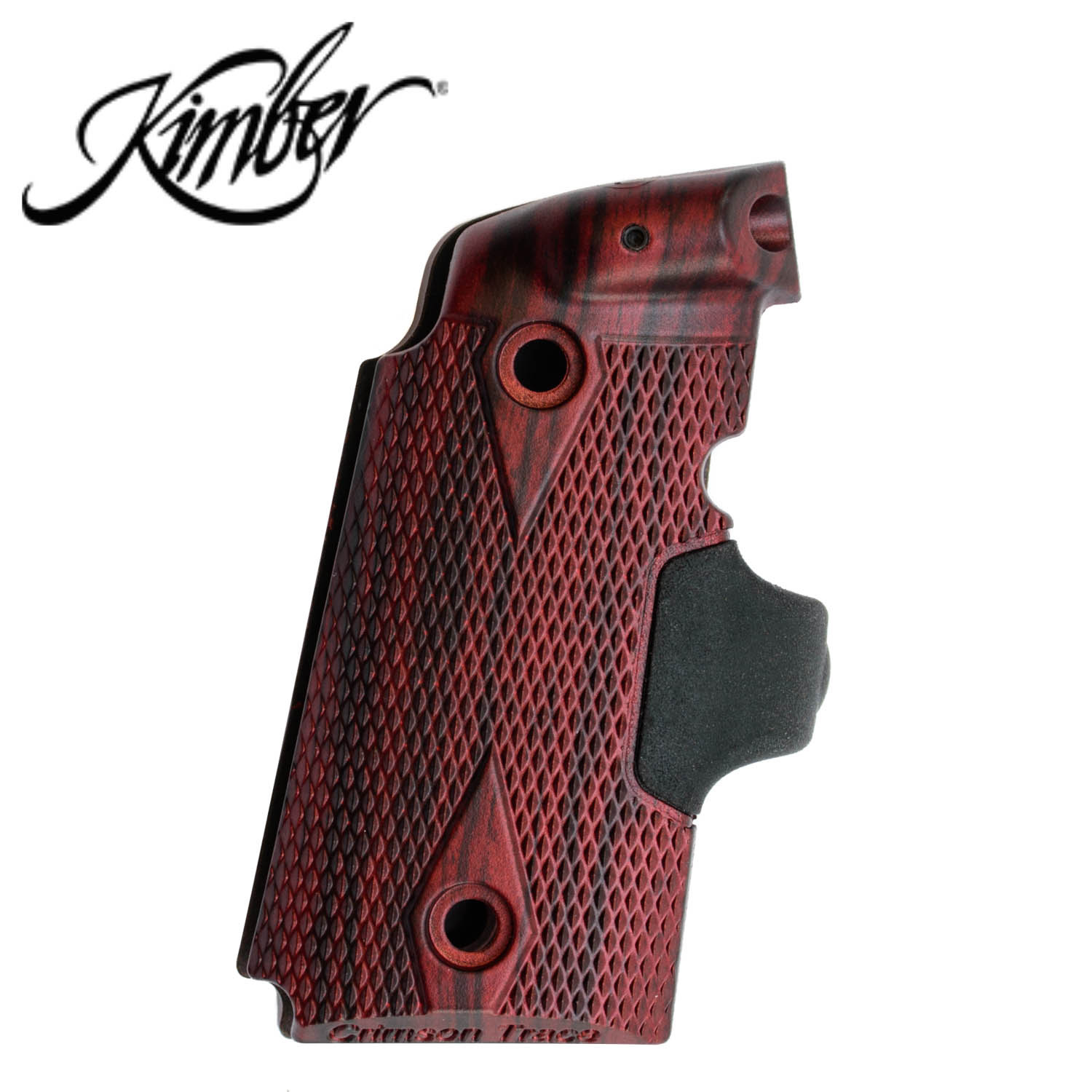 Kimber Micro 9 Crimson Trace Red Laser Grips, Rosewood: Midwest Gun Works