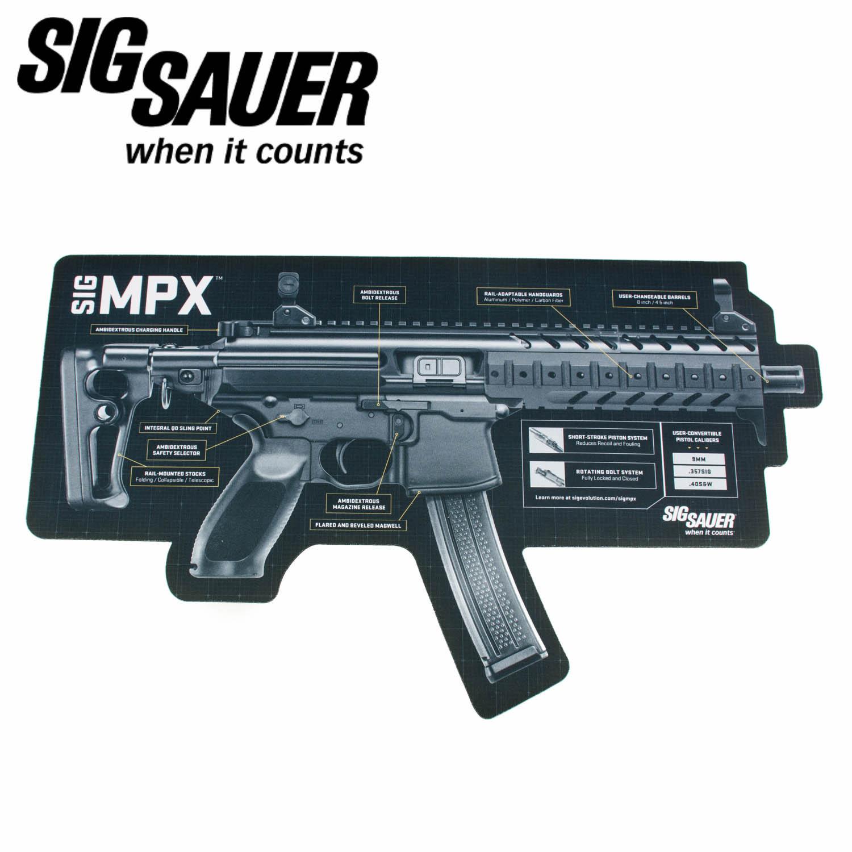 Sig Sauer Mpx Gun Mat Mgw