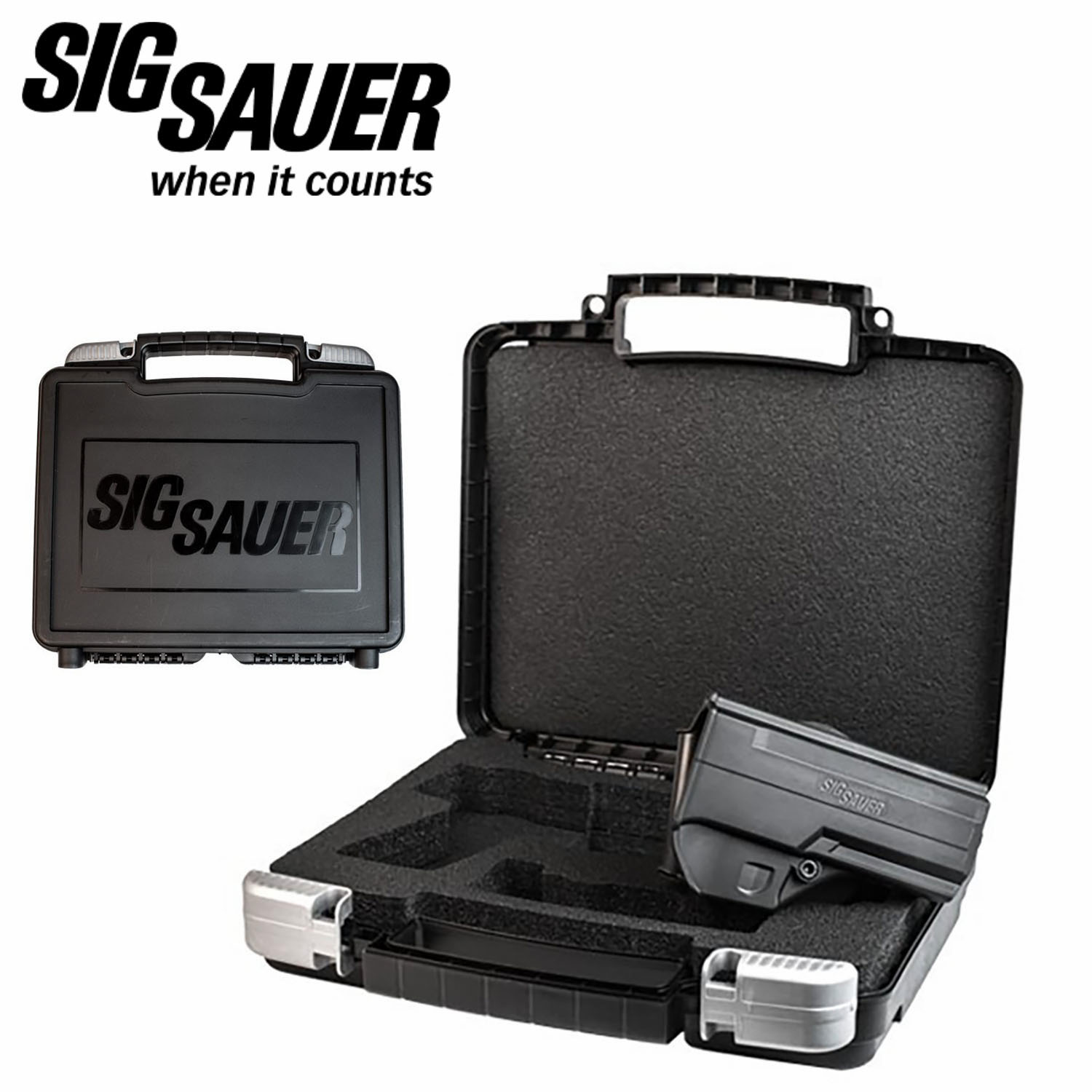 Sig Sauer P250 P320 Pistol Case With Holster Mgw
