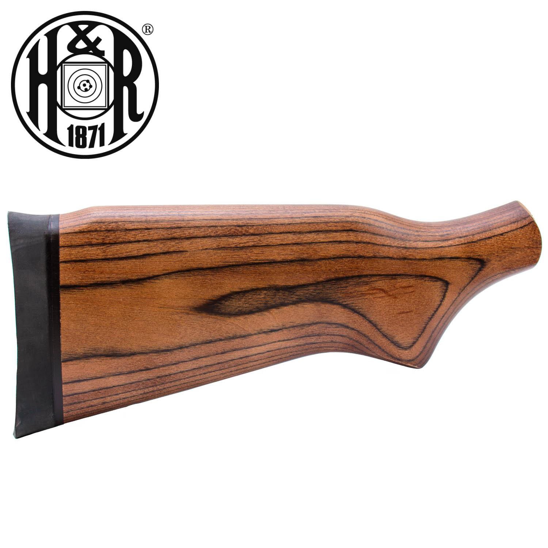 H&R Handi-Rifle / Ultra Slug Hunter Youth Monte Carlo Stock Assembly,  Natural Laminate: Midwest Gun Works