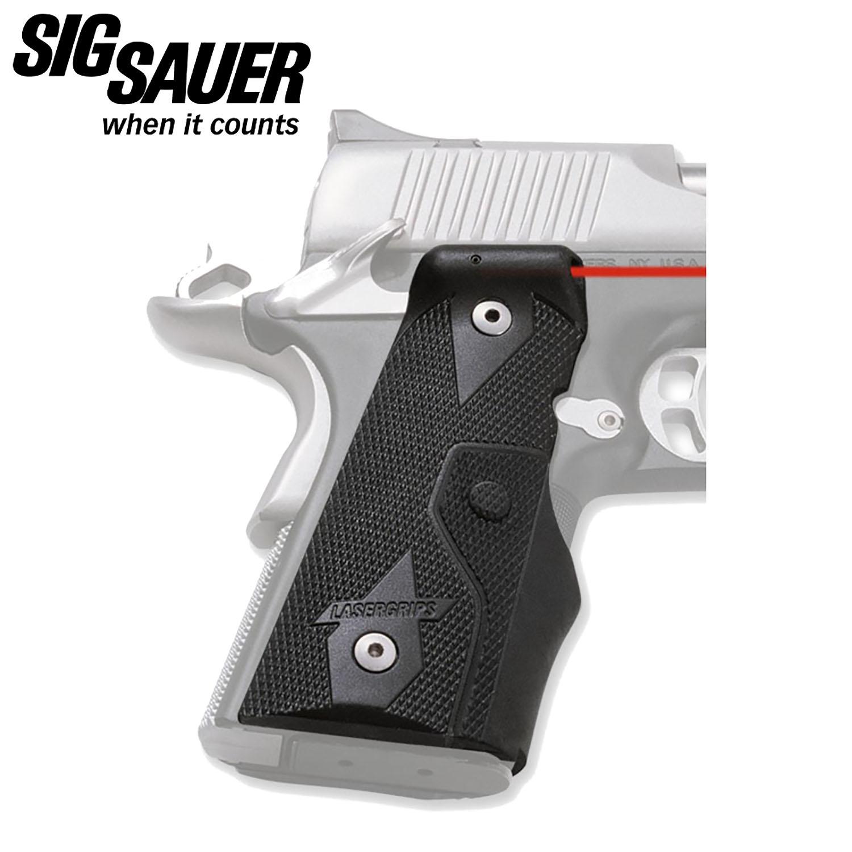 Sig Sauer 1911 Compact Crimson Trace Grip Set: Midwest Gun Works