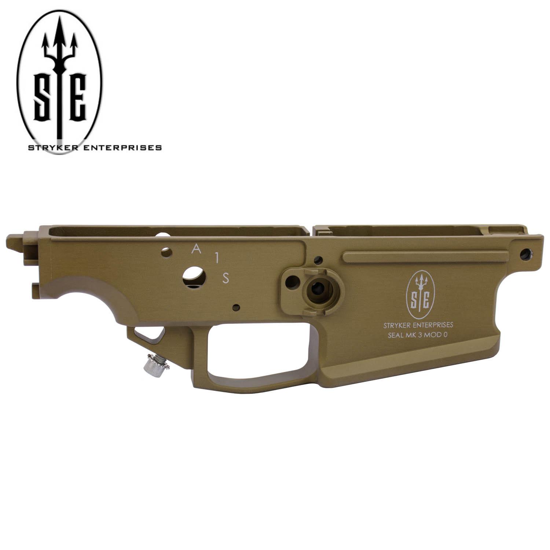 Stryker Enterprises FN SCAR 17S Enhanced Alloy Lower, Mk3 Mod 0, OEM  Magazine, FDE: Midwest Gun Works