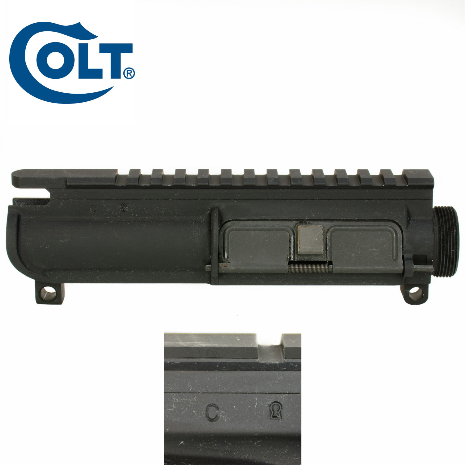 Colt SMG 9mm Upper Receiver Assembly: Midwest Gun Works