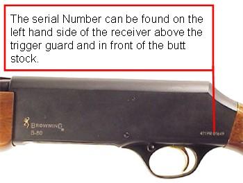 Serial number lookup remington shotgun REMINGTON ARMS